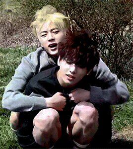 Jin and Jungkook...aawn *3*