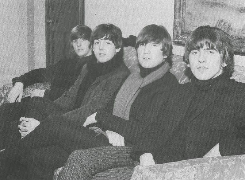 The Beatles in Dundee, Scotland. 20 October, 1964.