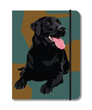 Black Lab notebook £8 at www.twowoofs.co.uk