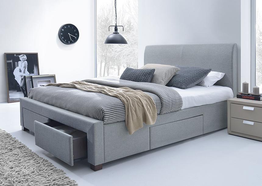 lit 140 avec tiroirs rangement lit une