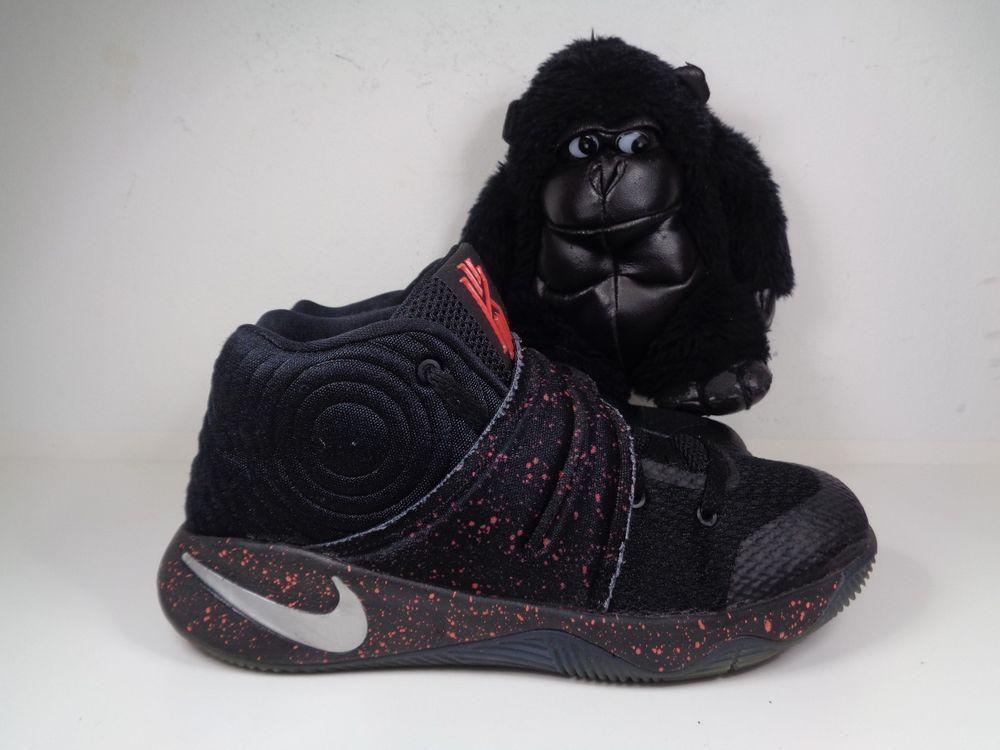 e5953a651b411 Kids Nike Kyrie 2 Speckle Edition Basketball shoes size 2 Youth 827280-006 # Nike #Basketball