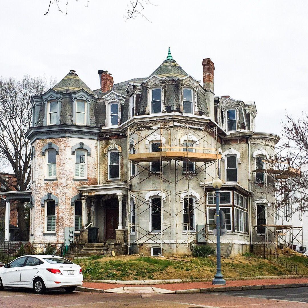 Homes in Ledroit park in Washington DC