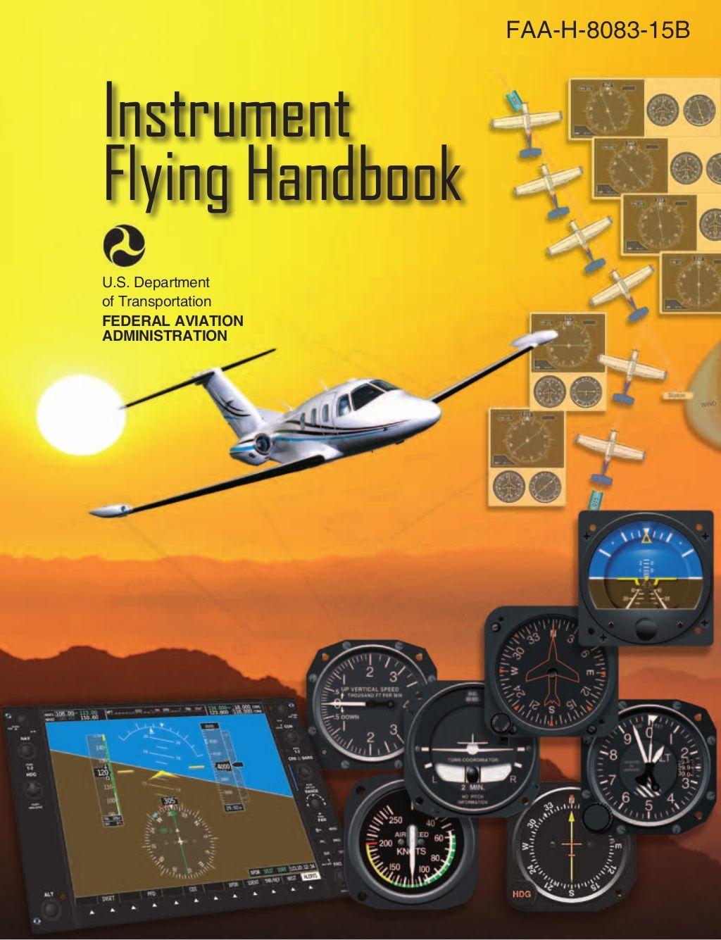 Instrument Flying Handbook Aviacao Fatos E Fotos Santos Dumont