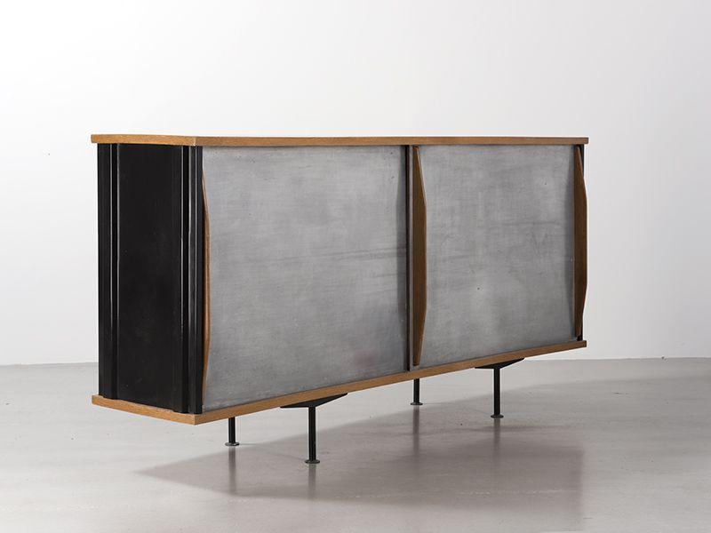 Bahut Ba11 Ca 1945 De Jean Prouve Galerie Patrick Seguin Jean Prouve Pierre Jeanneret Mobilier