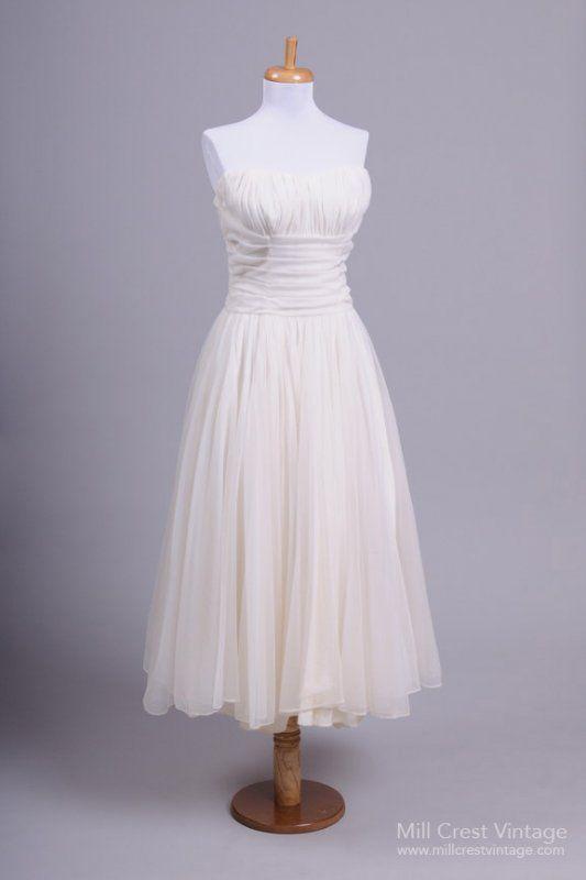 1950 Marilyn Monroe Vintage Wedding Dress   Vintage Fashions I Adore ...
