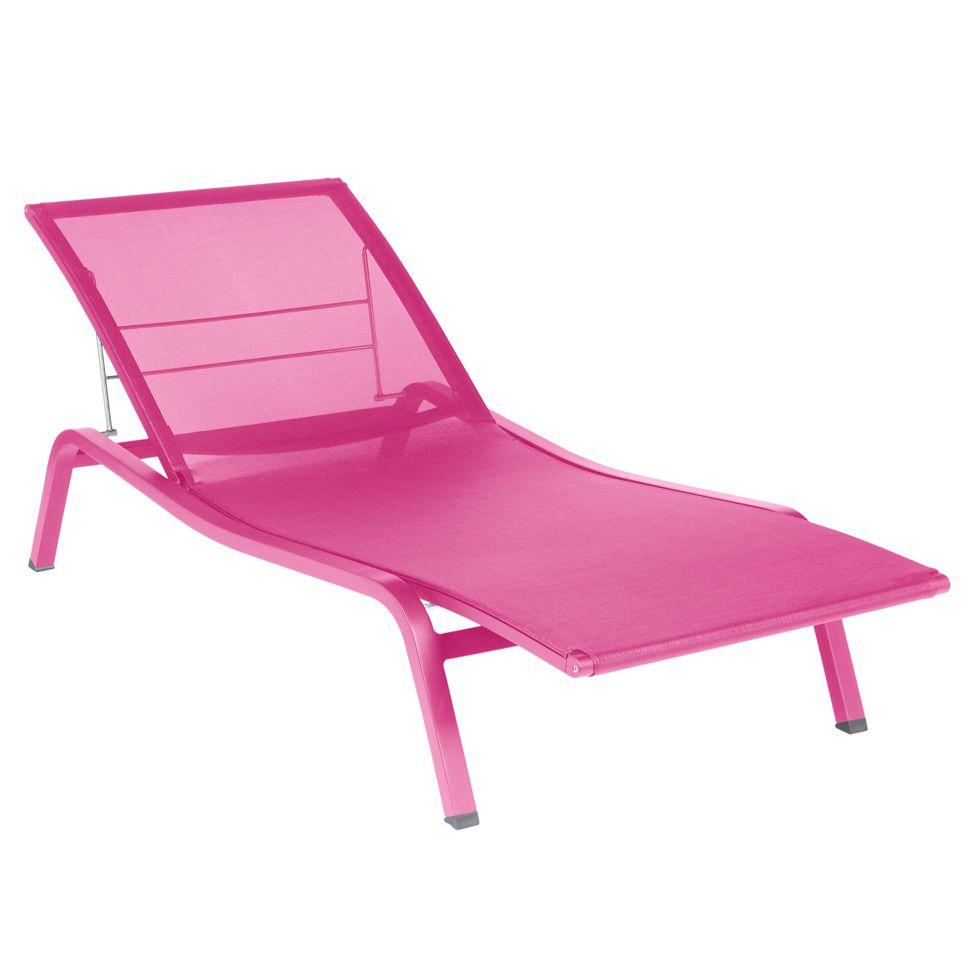 Alize Sunlounger Garden Chaise Longue Sun Lounger Lounge Chair Outdoor Fermob
