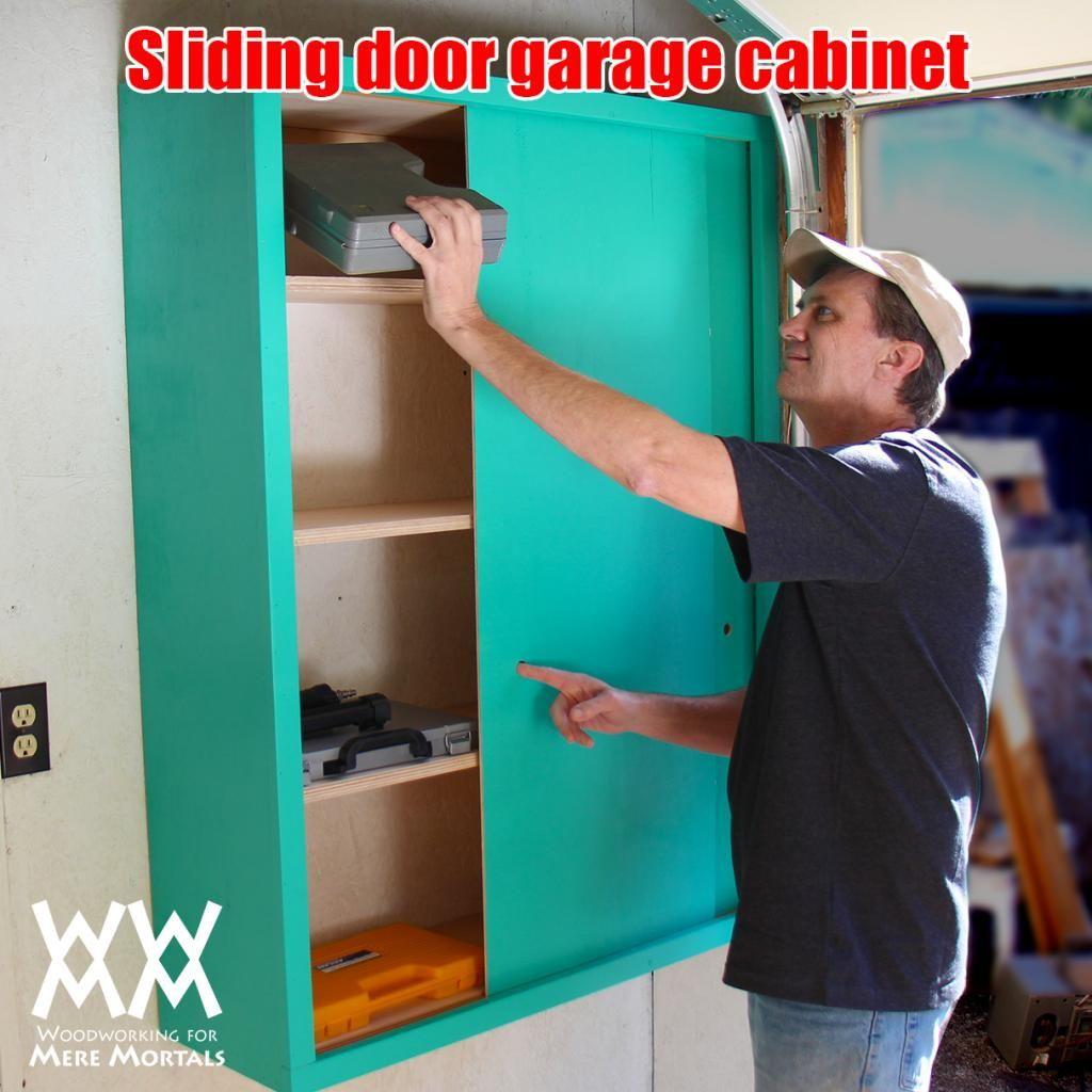 Make a slidingdoor garage or shop Organize! Free