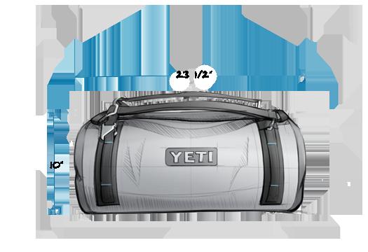 Panga 50 Duffel Exterior Front Waterproof duffel