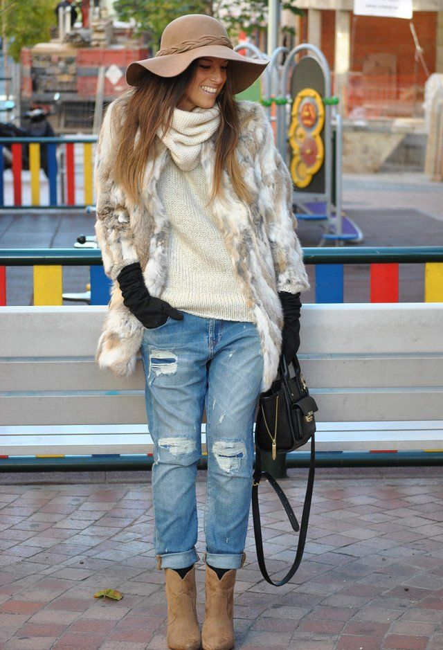 Go for A More Luxurious Winter Looks with Fur Outfits in 2015