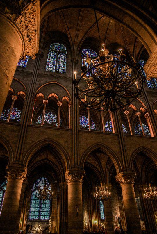 Cathédrale Notre-Dame, Paris, France.  www.jcllib.tumblr.com