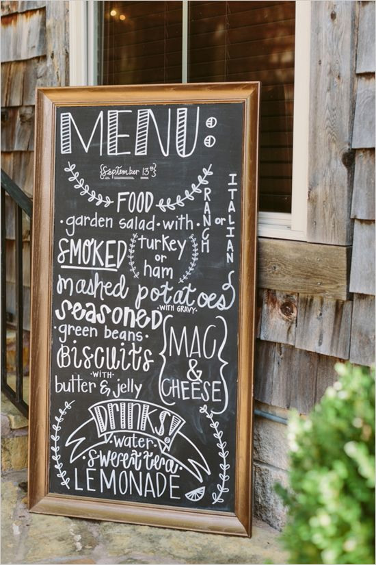 Rustic And Charming Chapel Wedding | Wedding Signs ...