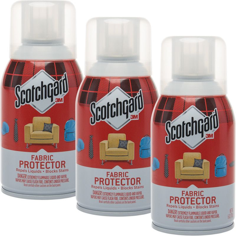 3pk Scotchgard 3m Fabric Protector 6oz Spray Block Stains Scotchgard Spray Clean Sofa Fabric
