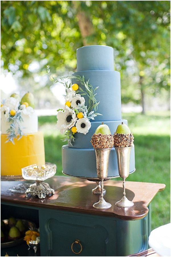 Grooms cake   Image by Kristine Marie Photography, see more http://www.frenchweddingstyle.com/perfect-pear-dessert-table/