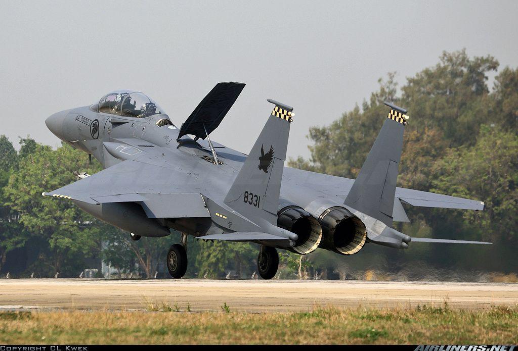 Singapore - Air Force; Boeing F-15SG Strike Eagle 8331 / 05-0024 (cn SG-24)