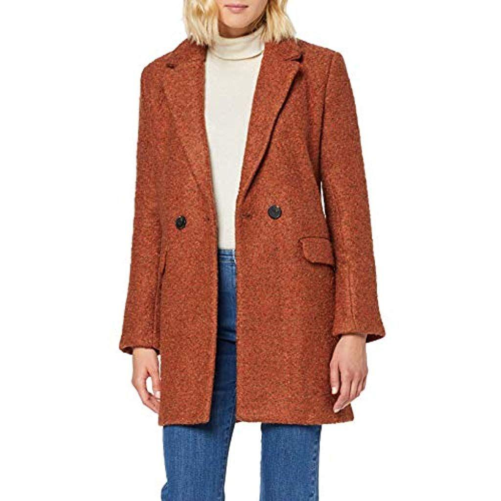 Only Damen Onlally Boucle Wool Coat Cc Otw Mantel Bekleidung Herren Jacken Mantel Westen Jacken Bekleidung Damen Tops T Shirts Modestil Damen Bekleidung