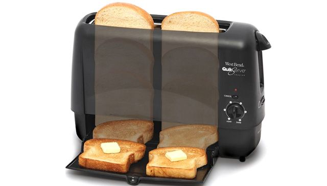 トースターの進歩。90秒でコンガリ、コンパクトなトースター(食パンってやはりパンの王様ですよね。) : ギズモード・ジャパン