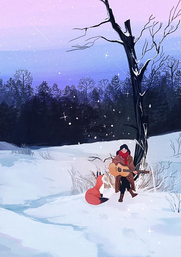 51번째 이미지 Winter Illustration, Anime Kunst, Anime Art, Witch Aesthetic, Colour Pallette, Flat Design, Beautiful Artwork, Love Art, Cute Wallpapers