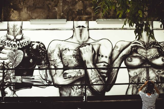 street art. lisbon. portugal.