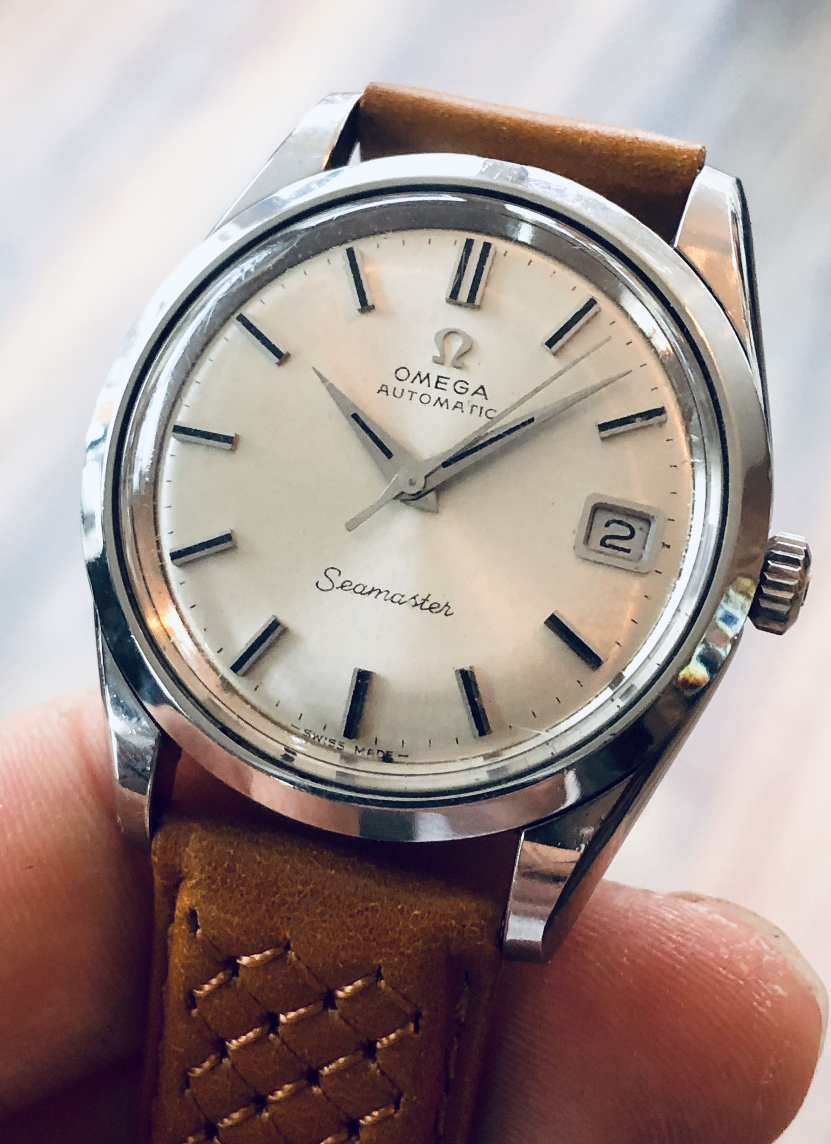 Omega Seamaster Stainless Steel Automatic Calibre 565 Men S Vintage Watch Luxury Watches For Men Vintage Watches Omega