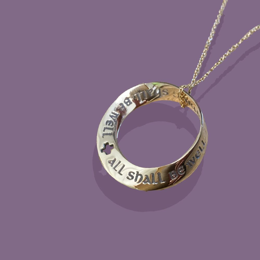 Gold All Shall Be Well Christian jewelry Medieval and Gold