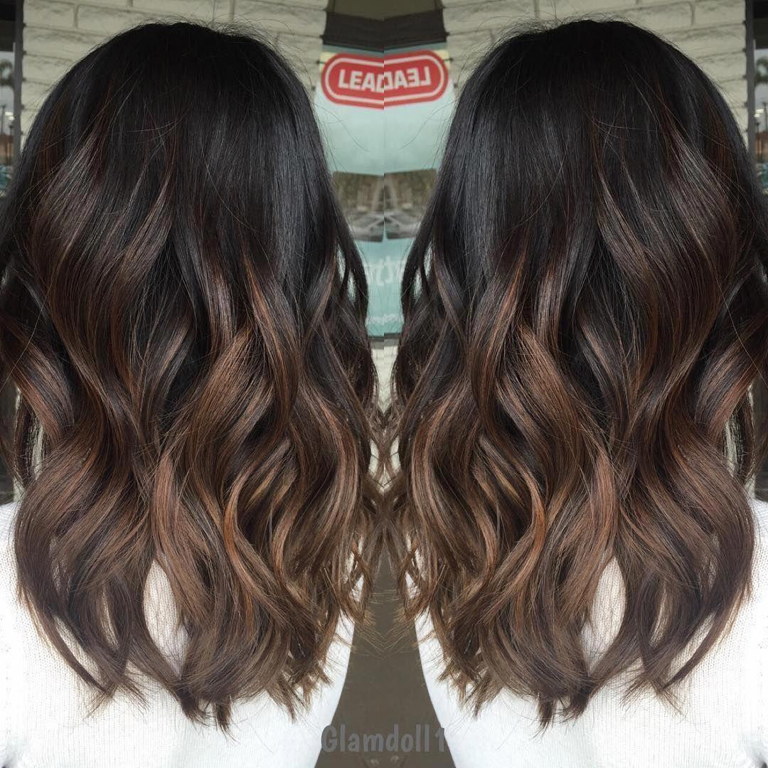 Stylish Brunette Balayage Short Hair Brunettebalayageshorthair Hair Styles Brown Hair Balayage Spring Hairstyles