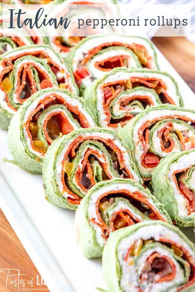 Pepperoni Roll ups One of our most popular recipes on the