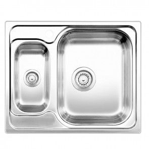 Blanco Tipo 6 Inset Stainless Steel Kitchen Sink - Tipo 6 S/ST ...