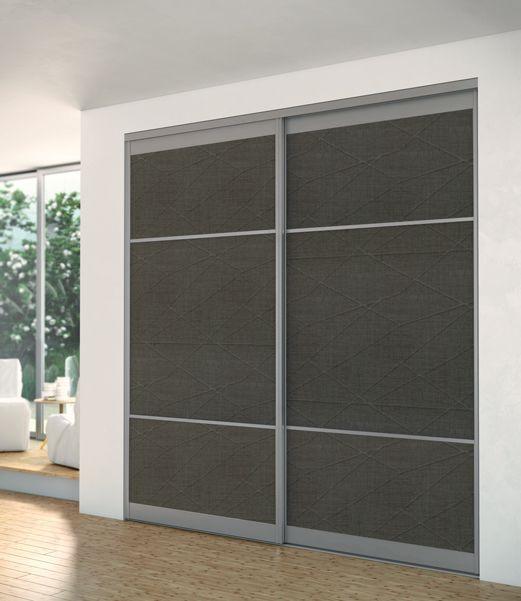 Portes coulissantes placards   dressings   pièces Sogal® placard - fabriquer un placard avec porte coulissante