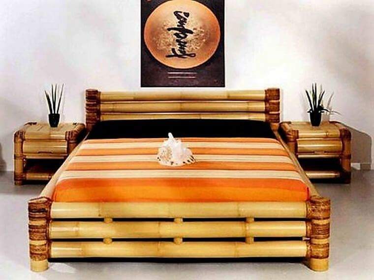 Creative Ideas With Bamboo With Images Bamboo Furniture Diy