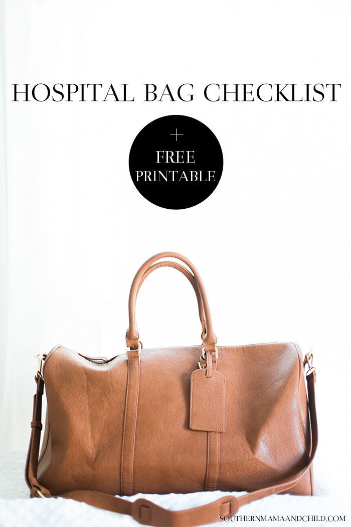 A great list of everything you will need when packing your hospital