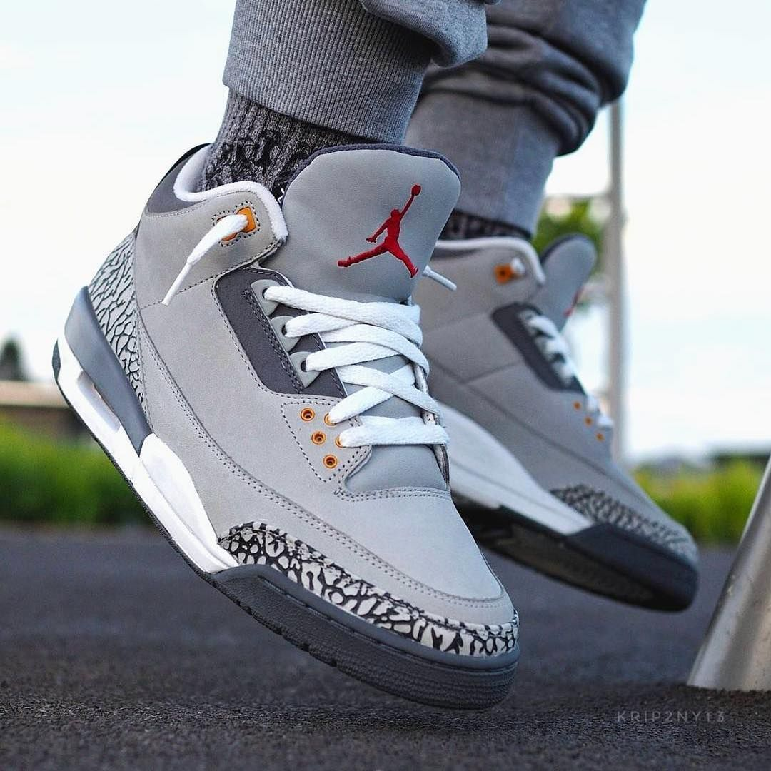 "brand new 3e82c 5af87 Nike Air Jordan 3 ""Cool Grey"