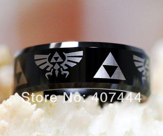 legend of zelda mens wedding ring - Zelda Wedding Ring