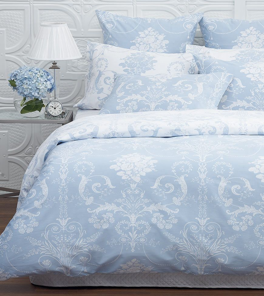 Josette quilt cover in Seaspray from Laura Ashley