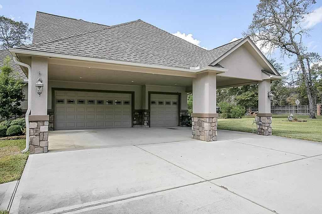 3 Car Garage Porte Cochere Building Plans House Bungalow Exterior Carport