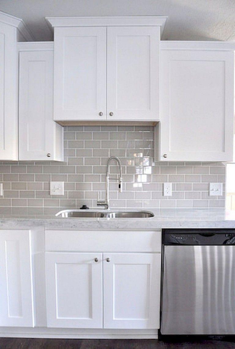 65 Elegant Kitchen Backsplash Tile Ideas Elegantkitchens Backsplashideas Kitchenideas
