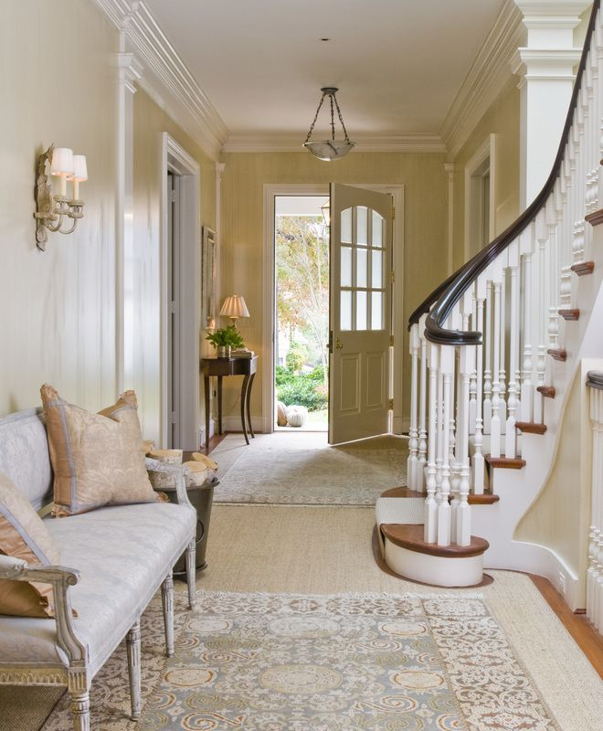 Washington, D.C. based designer Andrew Law specializes in clean, confident interiors that combine traditional architecture with both contemporary and antique pieces. His inspirations include Charleston, South Carolina and Thomas Jefferson's Monticello. Dering Hall Design Connect. In partnership with Elle Decor, House Beautiful and Veranda
