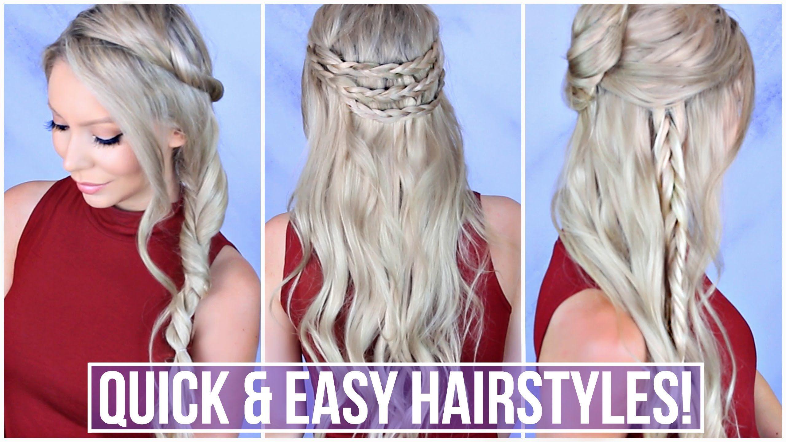 Easy minute hairstyles elegant hair styles pinterest updos