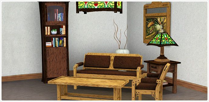 Hewnsman Living Room Set