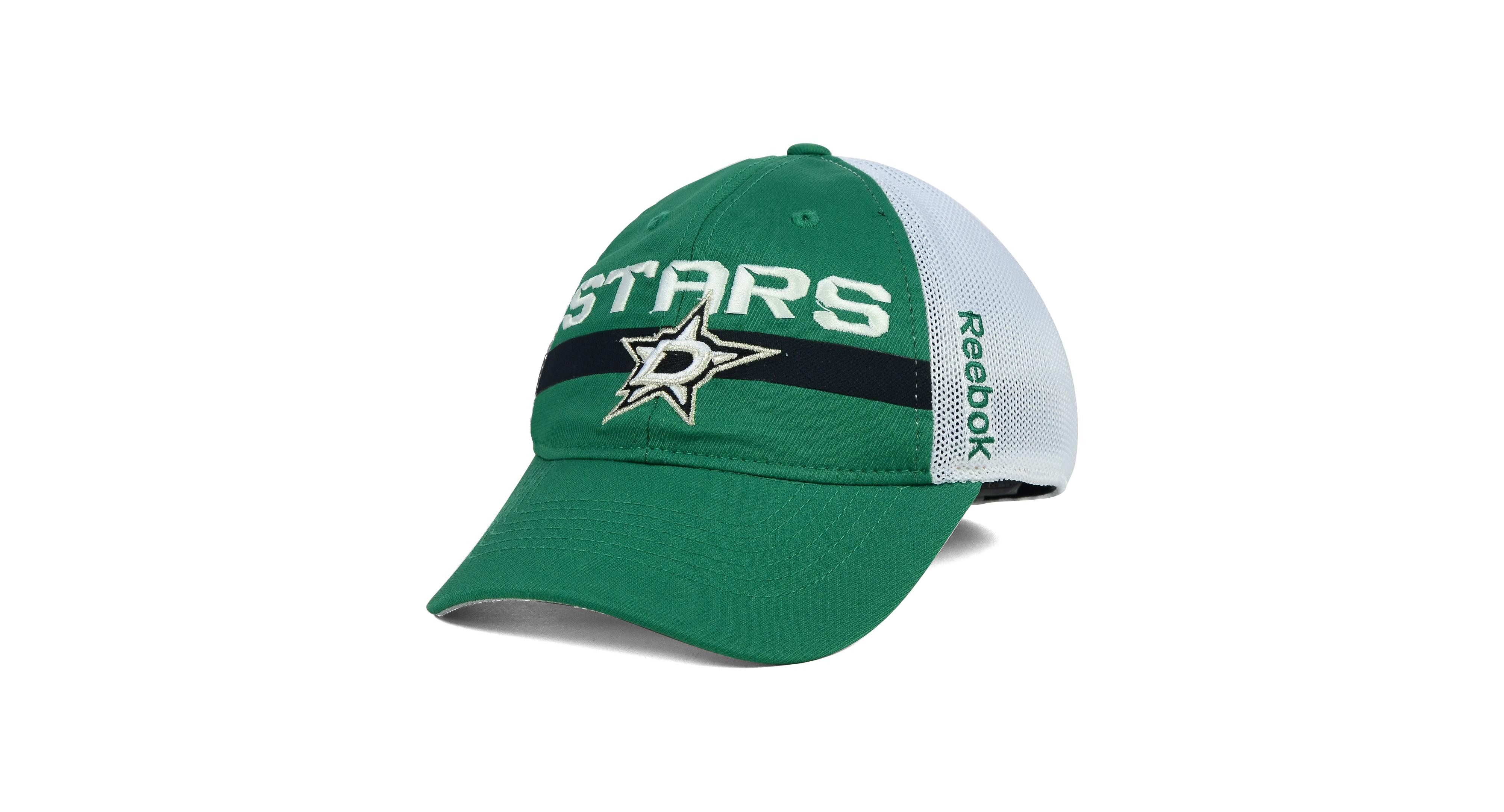Reebok Dallas Stars Player Mesh Slouch Cap