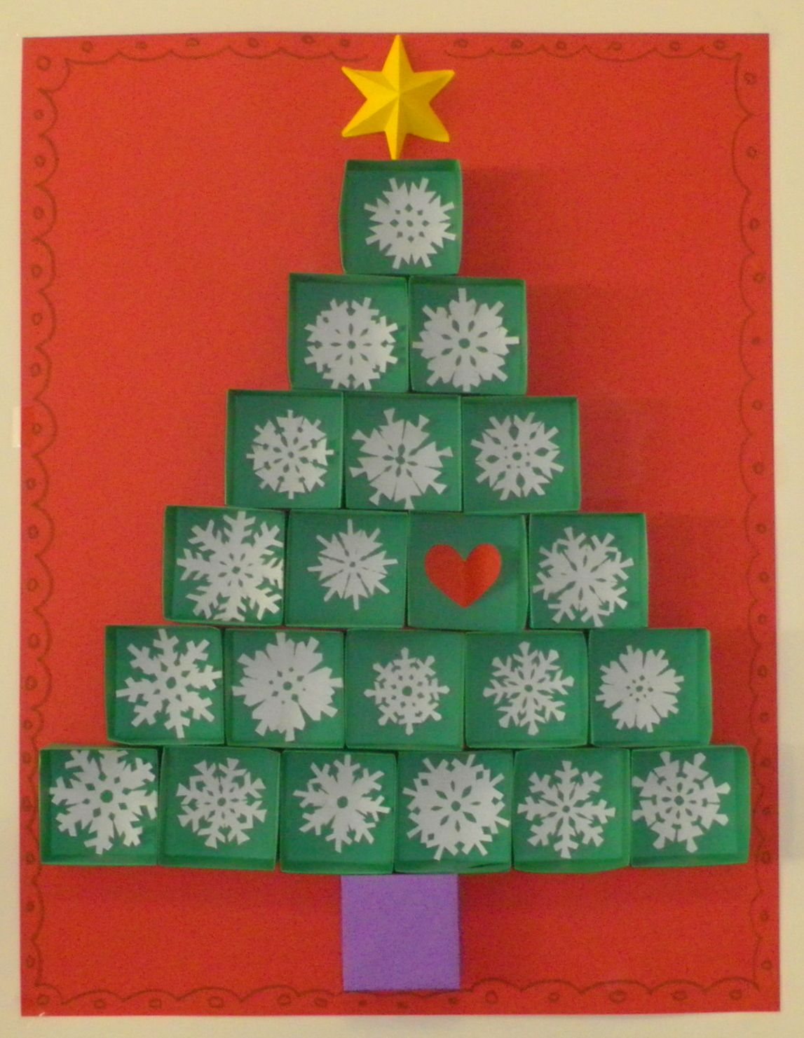 Esta navidad he preparado este mural para la sala de - Mural navidad infantil ...