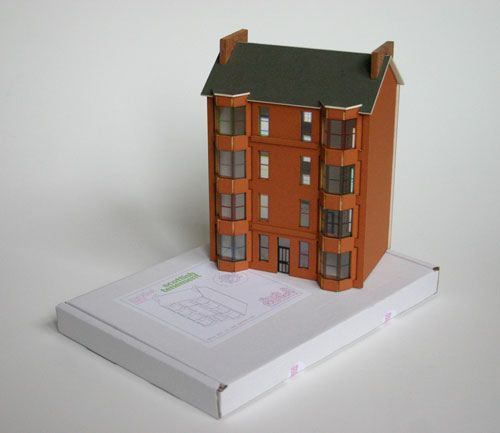 cardboard model making kits from architectural model specialists