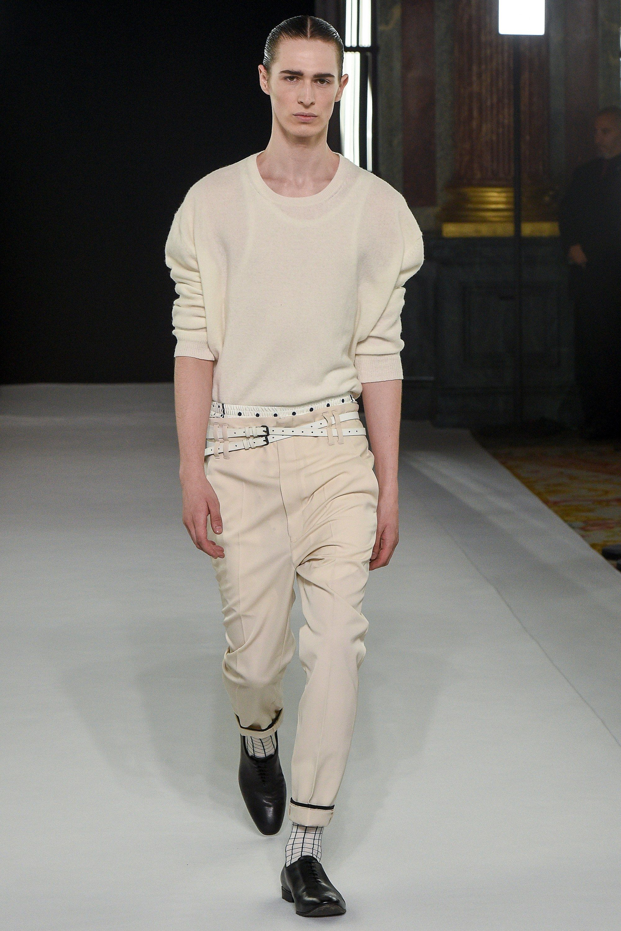 Fashion week Ackermann haider mens spring runway for girls