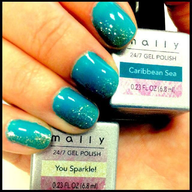 Gel Nails by Mally ❤ | Nail Art & Nail Lacquer | Pinterest ...