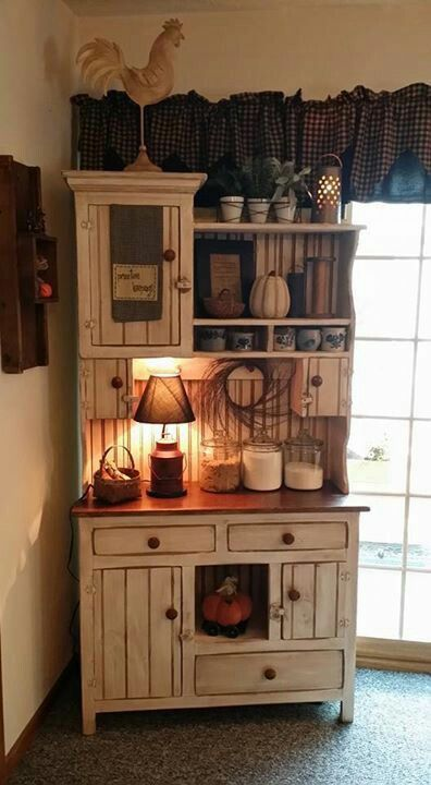 Diy Hutch Ideas For Your Home Decor In 2019 Country