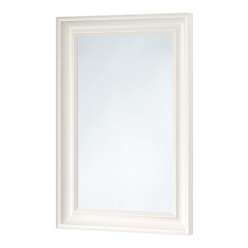 HEMNES Spejl, hvid hvid 60x90 cm