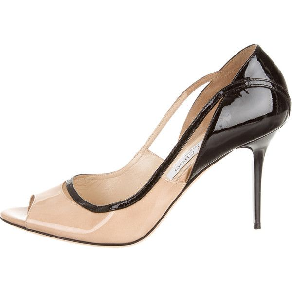 271c245f21e Pre-owned Jimmy Choo Pumps ( 175) ❤ liked on Polyvore featuring shoes