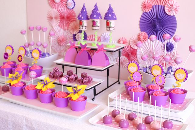 Rapunzel Tangled Princess Birthday Party Ideas