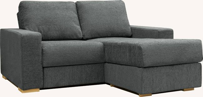 holl 2 seat chaise double sofa bed