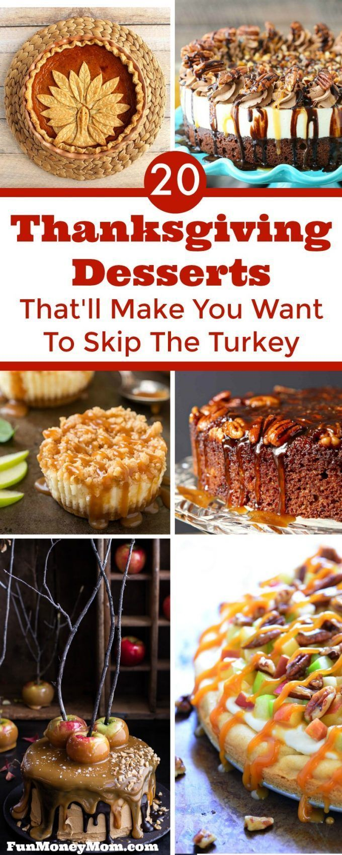 Thanksgiving Desserts That'll Make You Want To Skip Turkey images
