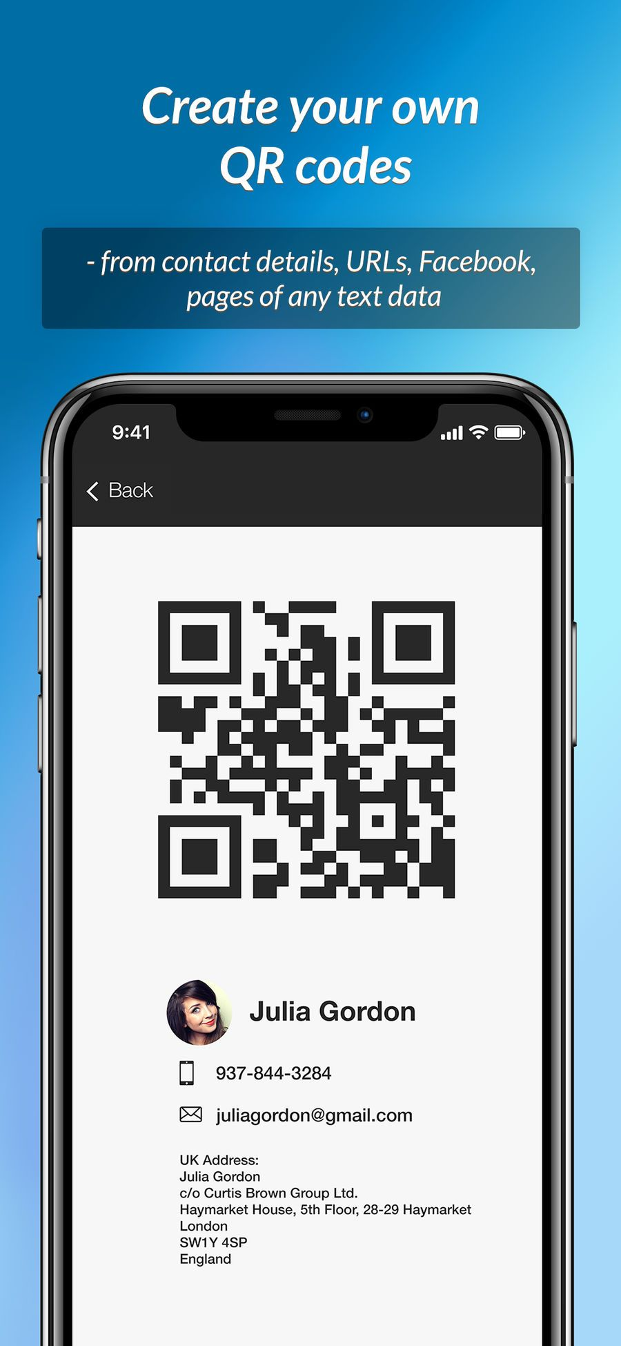 QR Scanner instant reading LifestyleProductivityapps